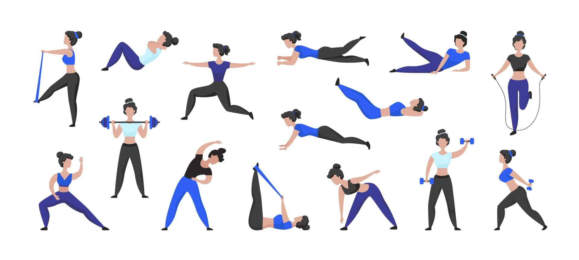 New to Exercise?  Learn 5 Types of Exercise and The Benefits to Your Health